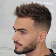 fashionable men's haircuts. short