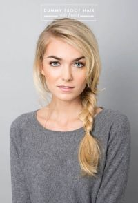 Hairstyles For Long Hair : Easy Side Braid | 20 Hairstyles ...