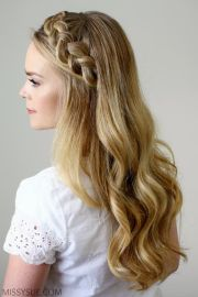 hairstyles long hair headbands