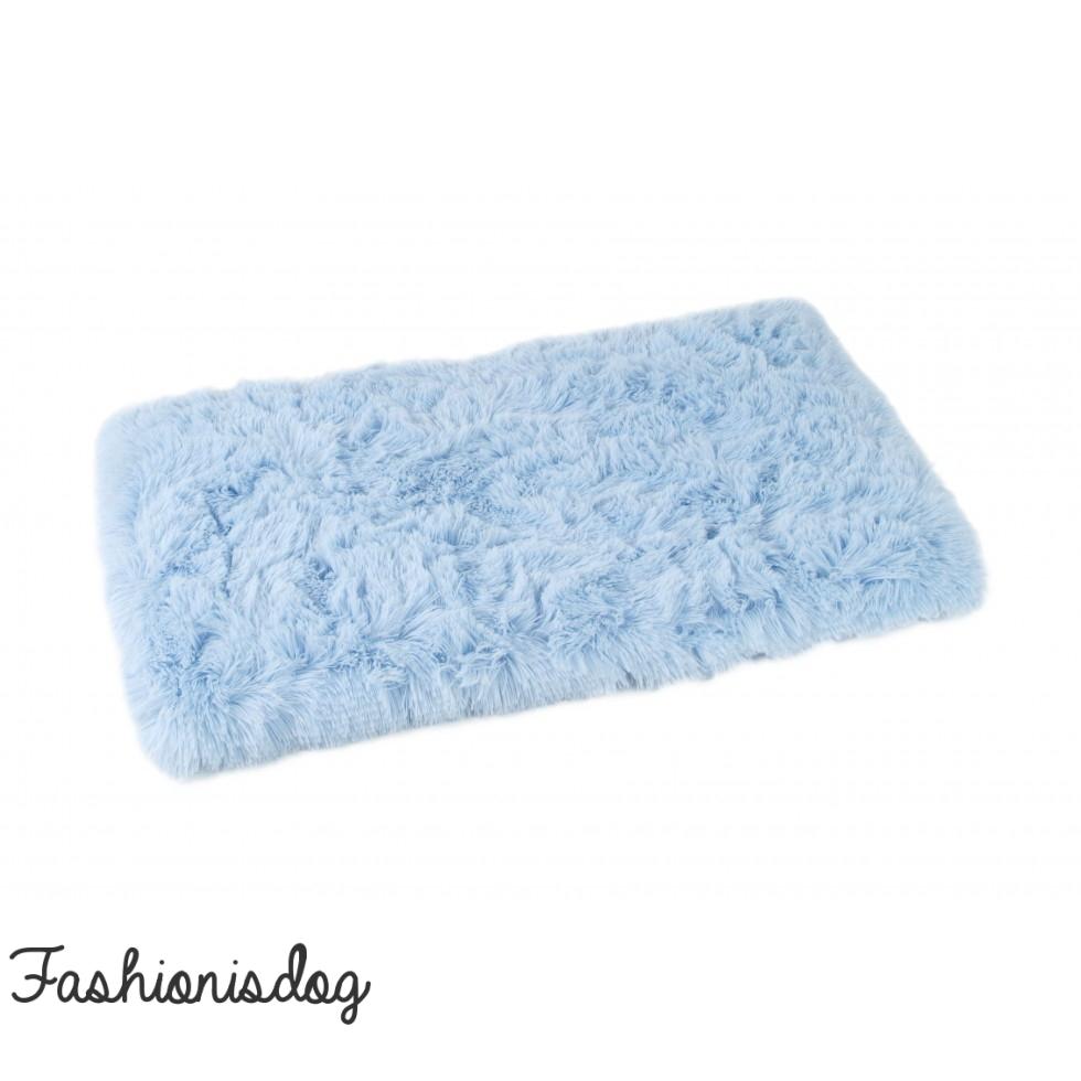 tapis o lala pets bleu ciel pour chiens