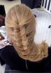 pretty braided hairstyles prom