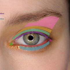 How To Apply Eyeshadow Diagram 2012 Honda Accord Wiring Eyelid Makeup Style Guru Fashion Glitz Glamour