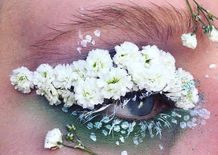 The Terrarium Eyes Makeup Trend is Truly Out Of This World