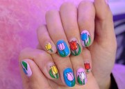 cute summer nail art swoon over