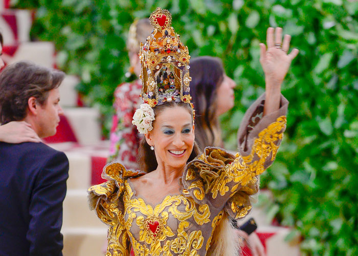 The Most Mesmerizing Headpieces at The 2018 Met Gala