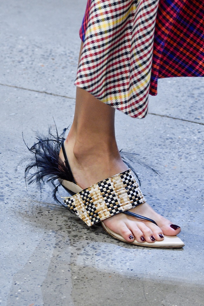 The Fiercest Shoe Trends From Fashion Month Runways You Need To Know About prabal gurung