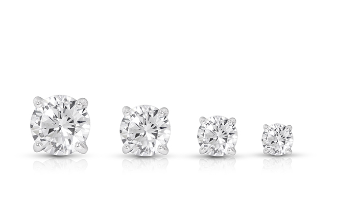 How-to-Choose-Diamond-Stud-Earrings-different-sizes