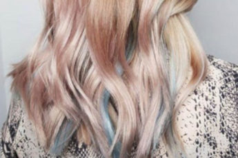 The Light Rainbow Hair Color is Trending This Summer 6