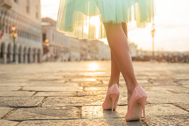 how-to-wear-mint-green-fashionisers-shoes-with-mint-green-dress