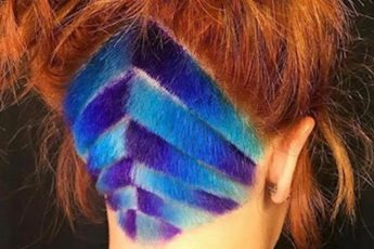 Bold Colorful Undercut Hairstyles For Women