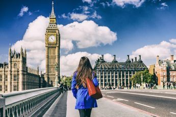 woman in london