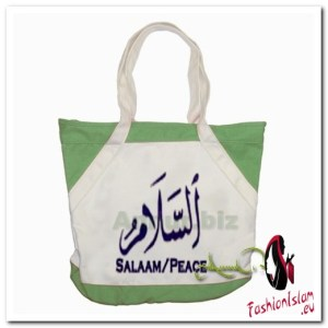 salaam peace 3 Accent Tote Bag