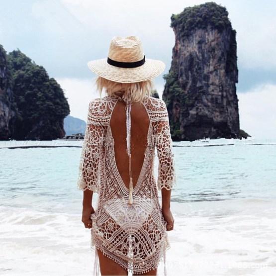 Sexy Crochet Beach Dress
