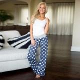 Boho Dot Checkerboard Pants