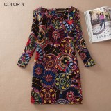 Ladies Long Sleeve Casual Autumn Color 3
