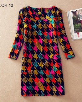 Ladies Long Sleeve Casual Autumn Color 10
