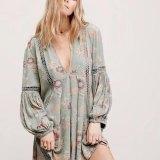 Boho Beach Mini Dress