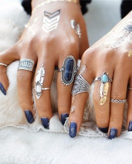 Stone Midi Ring Sets