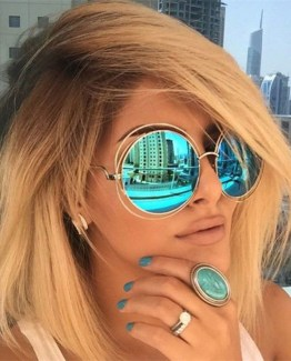 Vintage Retro Oversized Sunglasses