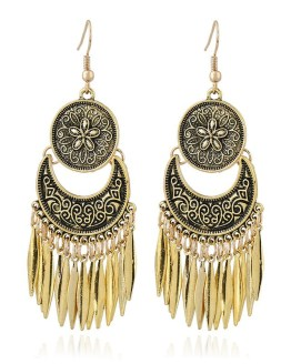 Drop Long Tassel Earrings