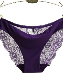 Traceless Crotch of Cotton Underwear Woman Panties