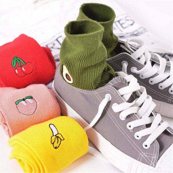 Fruit Funny Socks