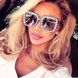 Retro Diamonds Sun Glasses