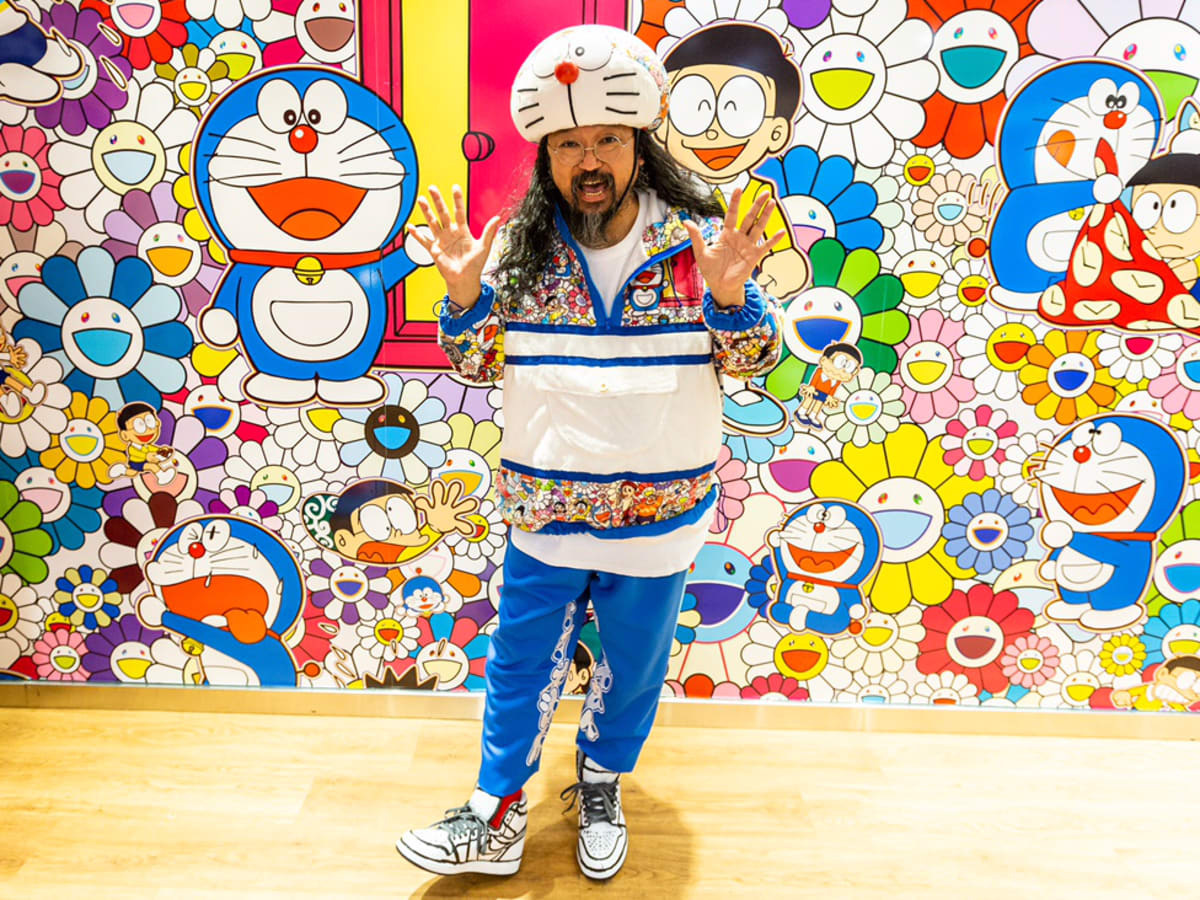 His works are built around an almost obsessive urge to explore. Takashi Murakami On His Uniqlo Collaboration And The Detail Oriented Process Behind It Fashionista