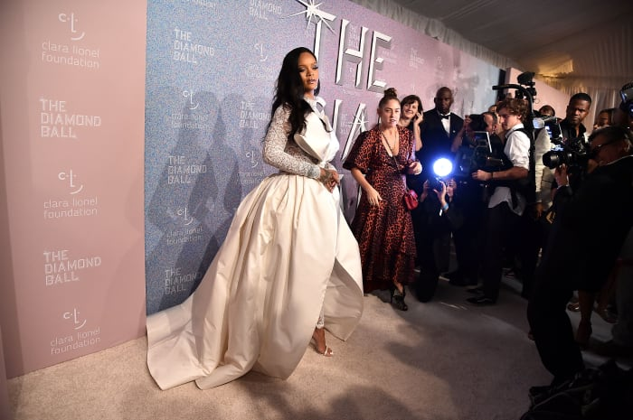 Image Result For Rihanna And All Her Celeb Pals Shined Bright At The Diamond Ball
