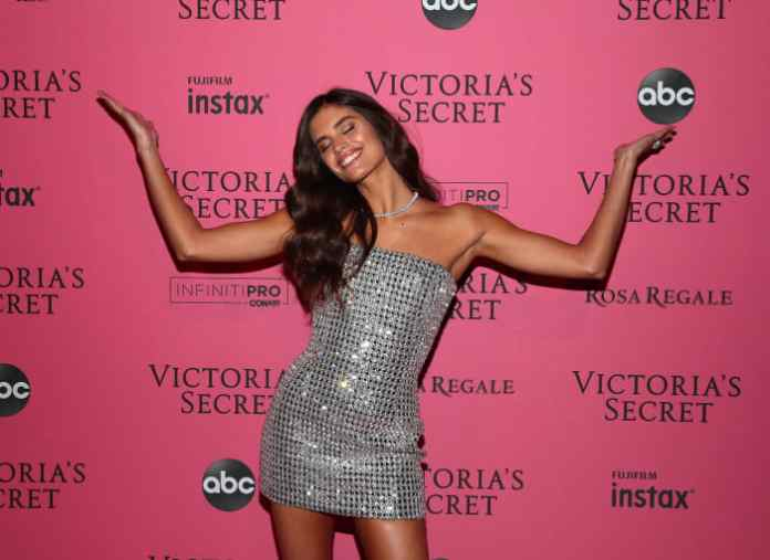 Sara Sampaio at the 2018 Victoria's Secret Fashion Show After Party in New York City. Photo: Astrid Stawiarz/Getty Images