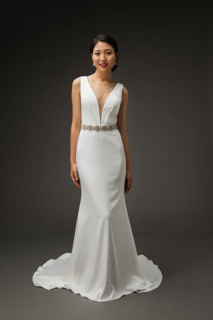The Tabitha gown from Grace + Ivory.
