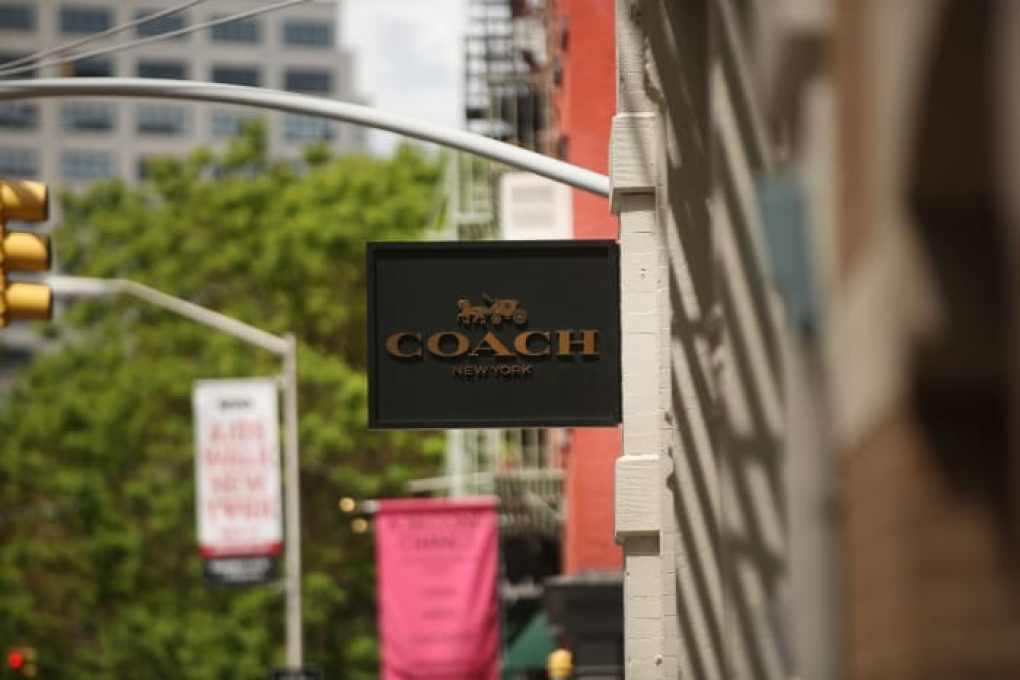 A Coach store stands in the SoHo neighborhood of Manhattan on May 8, 2017