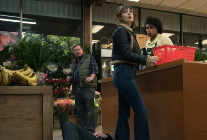 Really, do not f*ck with Kristen (Katja Herbers) in 'Evil.' (Just ask the guy lying on the floor.)