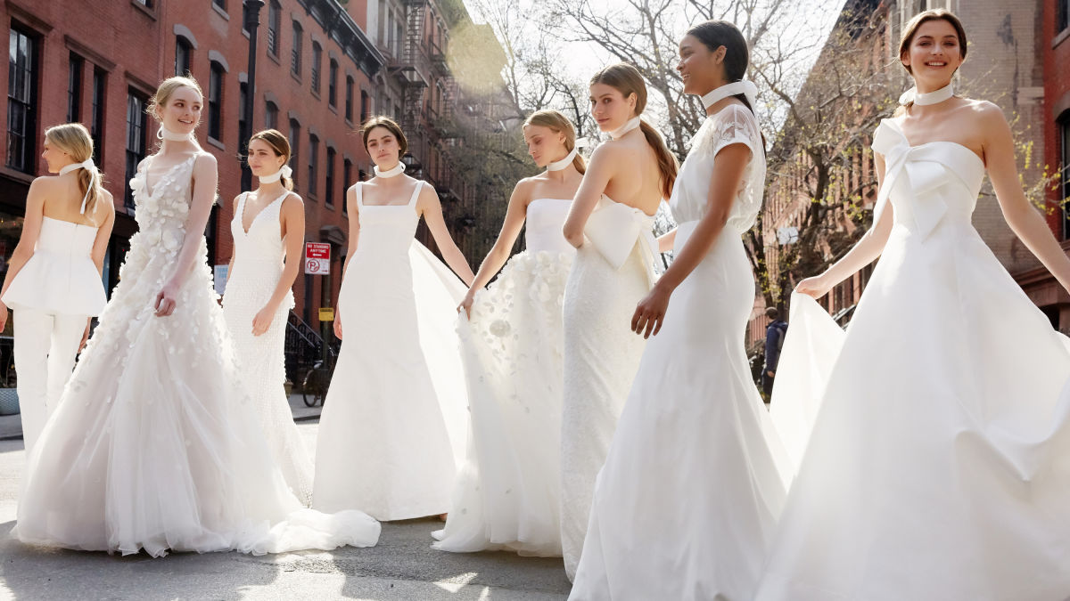 1f0c2530c56 The Meghan Markle Effect Is Already All Over the Spring 2019 Bridal ...