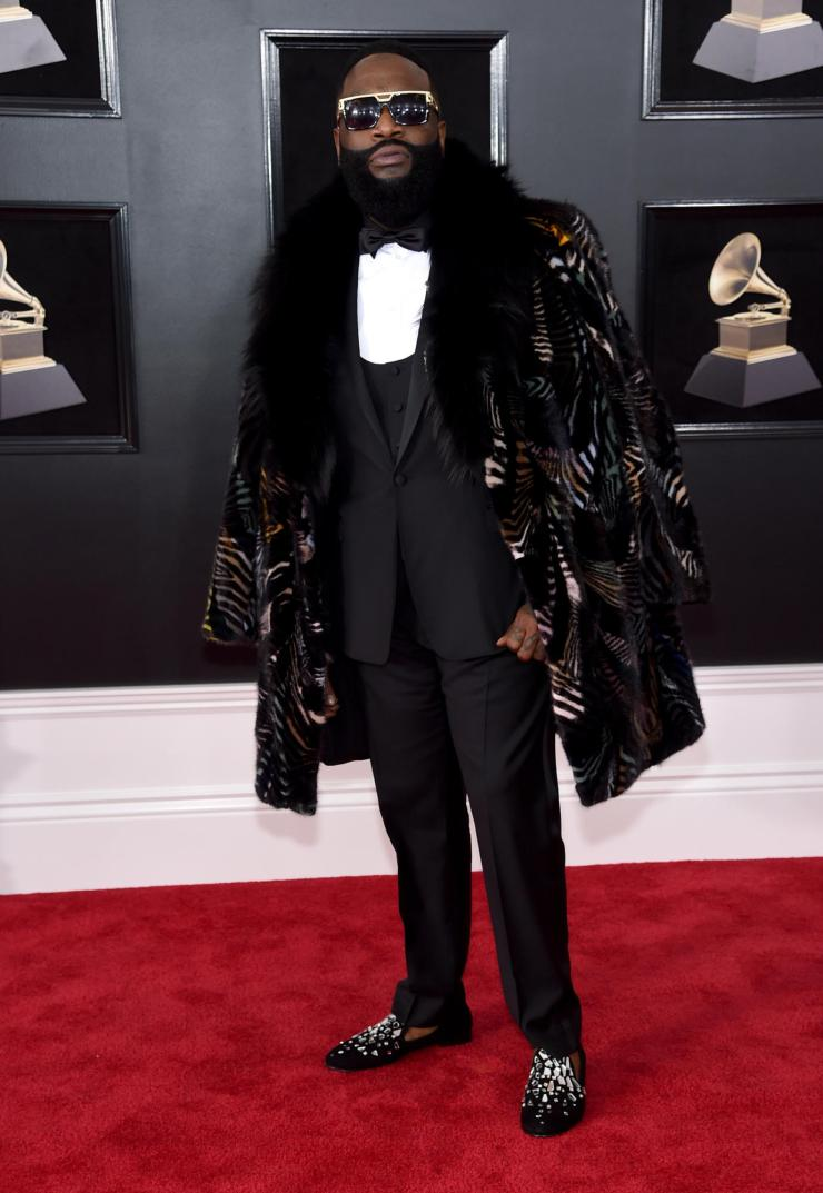 rick ross grammy - See All the Red-Carpet Looks From The 2018 Grammy Awards