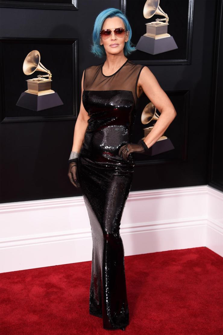 jenny-mccarty-grammys See All the Red-Carpet Looks From The 2018 Grammy Awards