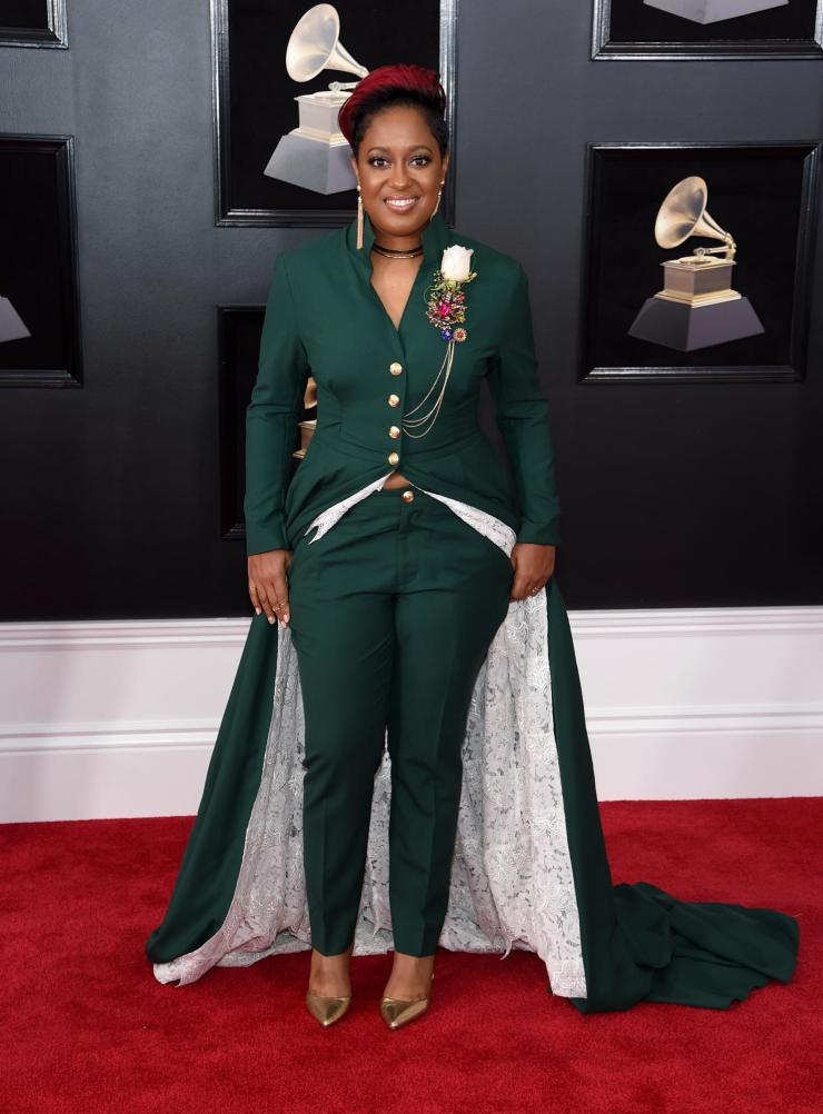 rapsody grammys - See All the Red-Carpet Looks From The 2018 Grammy Awards