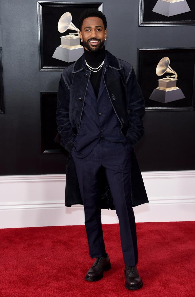 big-sean-grammys See All the Red-Carpet Looks From The 2018 Grammy Awards
