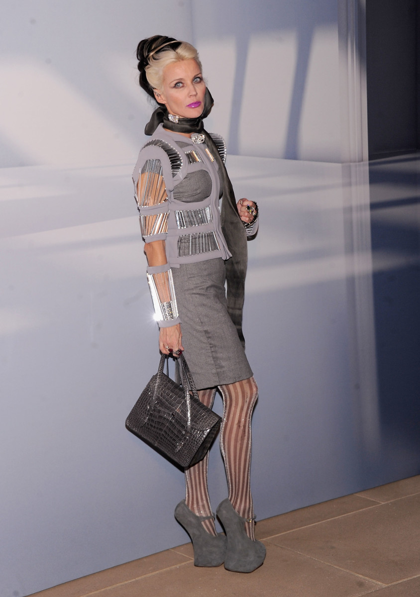 Daphne Guinness Has Fallen in Her Hoof Shoes On More Than One Occasion  Fashionista