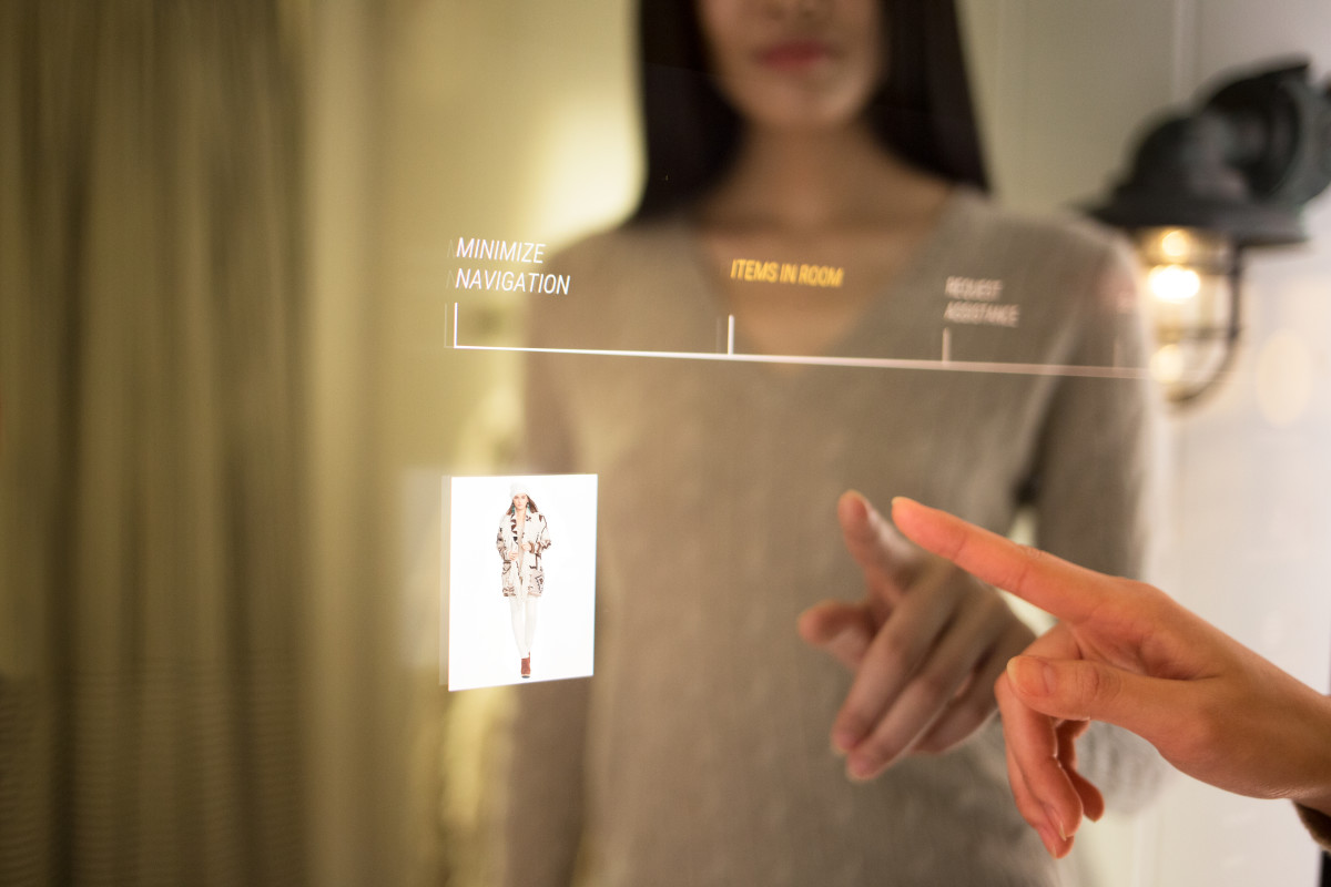 Polo Ralph Lauren Debuts Interactive Fitting Rooms at