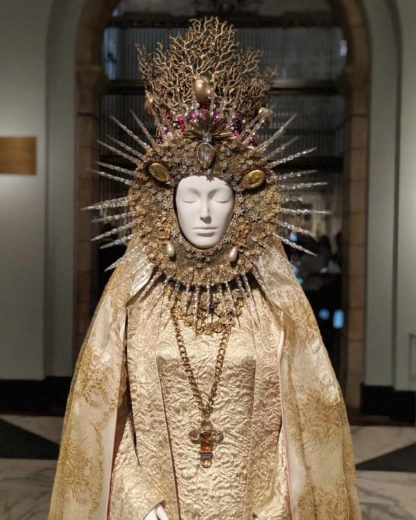 'heavenly Bodies Fashion And Catholic Imagination' Met' Largest Exhibit Date