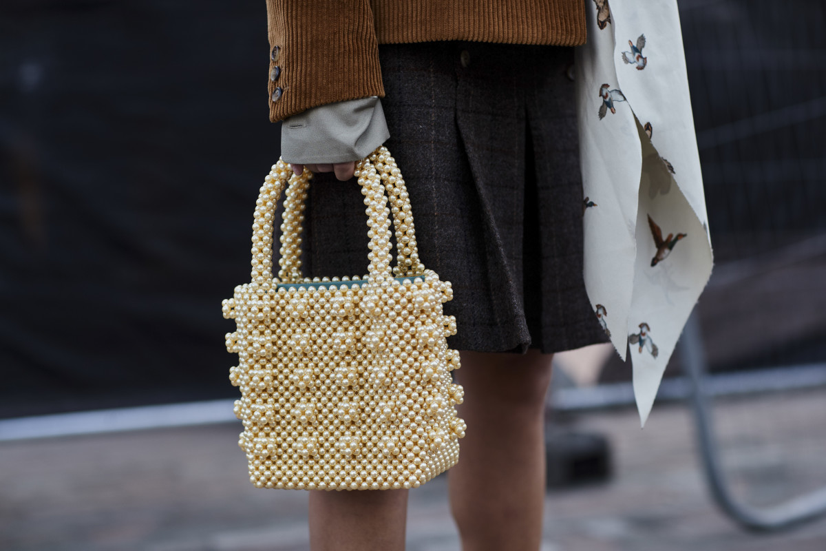 It Bag for Summer- the beaded bag