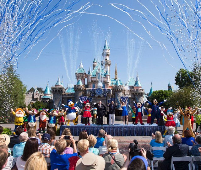 Disneyland Photo Paul Hiffmeyer Getty Images