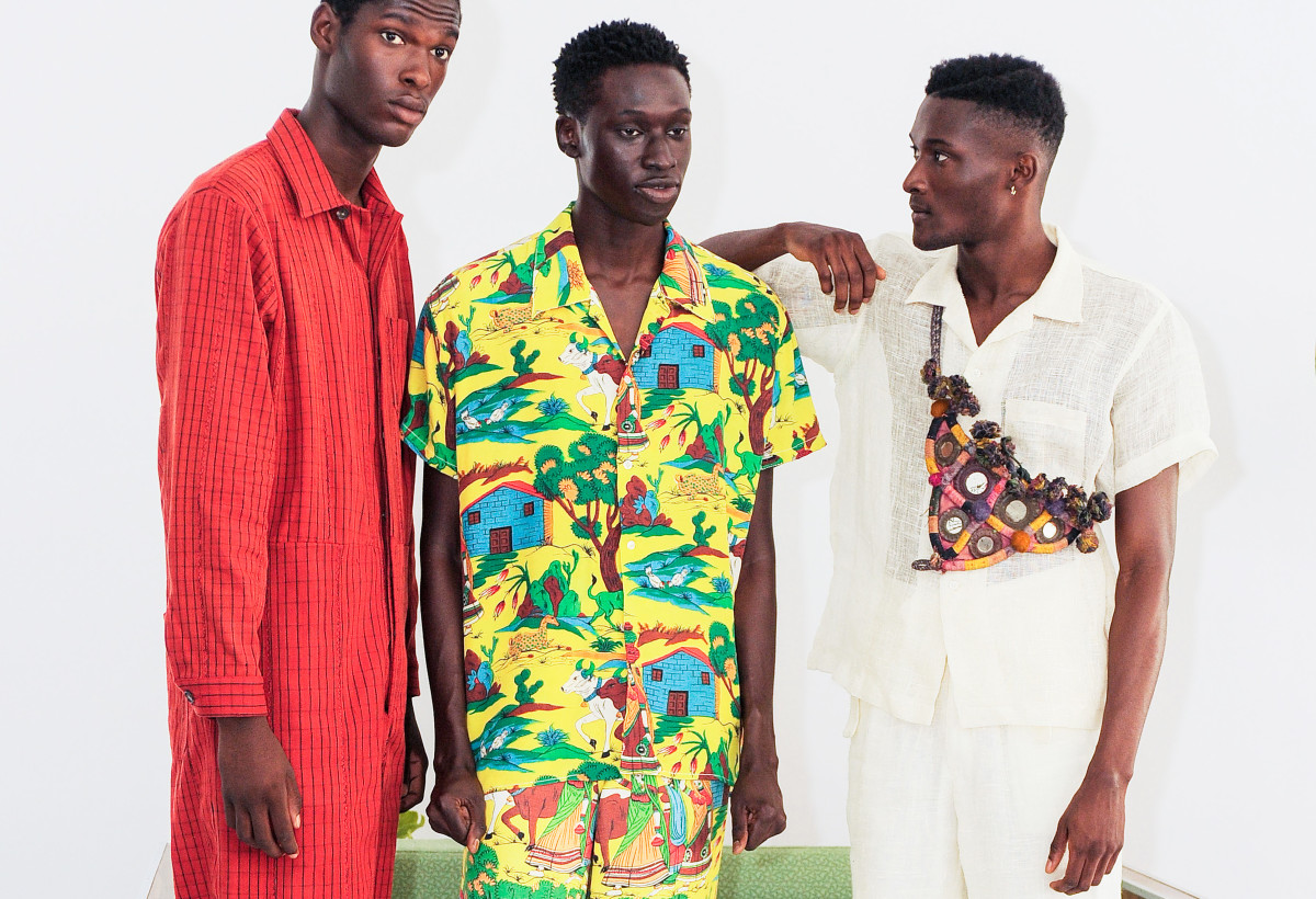 Looks from the Bode Spring 2019 collection. Photo: Imaxtree