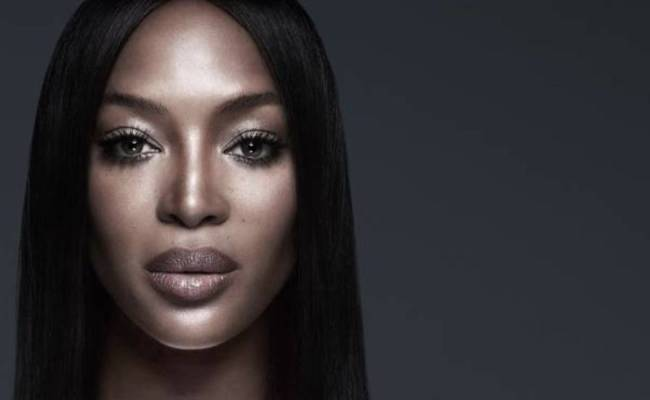 In Her First Ever Beauty Campaign Naomi Campbell Is The