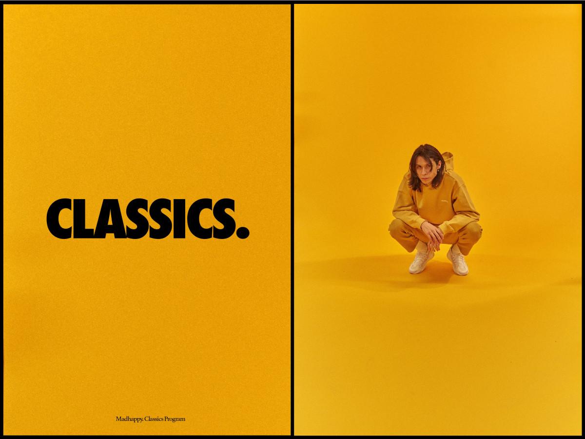Madhappy's new permanent classics line. Photo: Courtesy of Madhappy