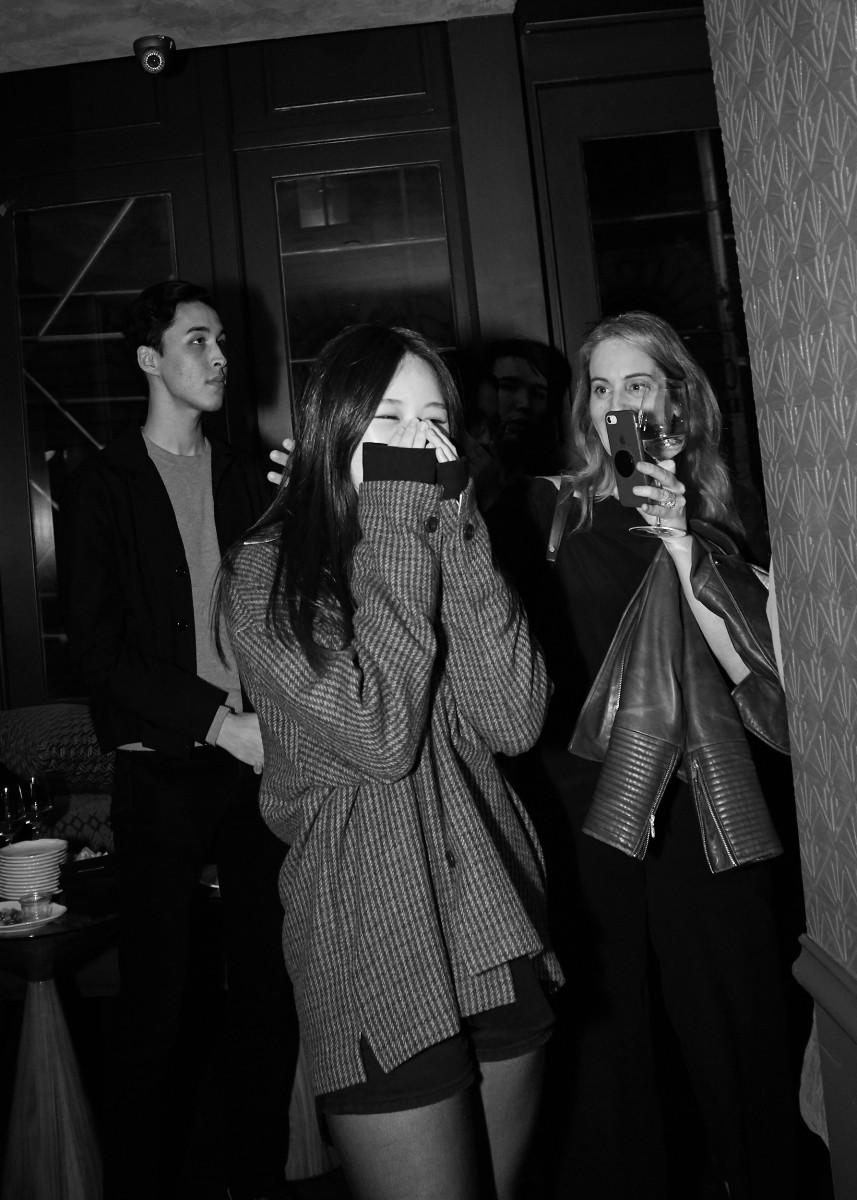 So Jung (Hailey) Kim winning a scholarship from Joe's Blackbook Foundation.Photo:Ken Morton/Courtesy of Joe's Blackbook
