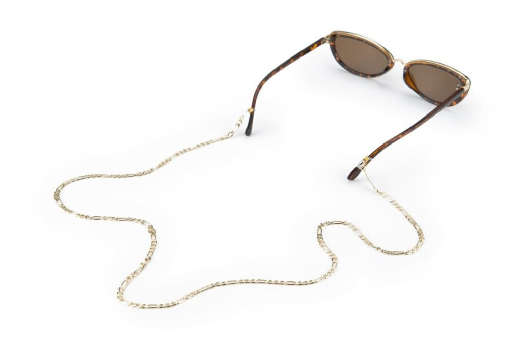 Donni Gold Sunglasses Chain, $75, available here.