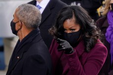 Michelle Obama Steals the Sartorial Spotlight in Sergio Hudson at the Presidential Inauguration - Fashionista