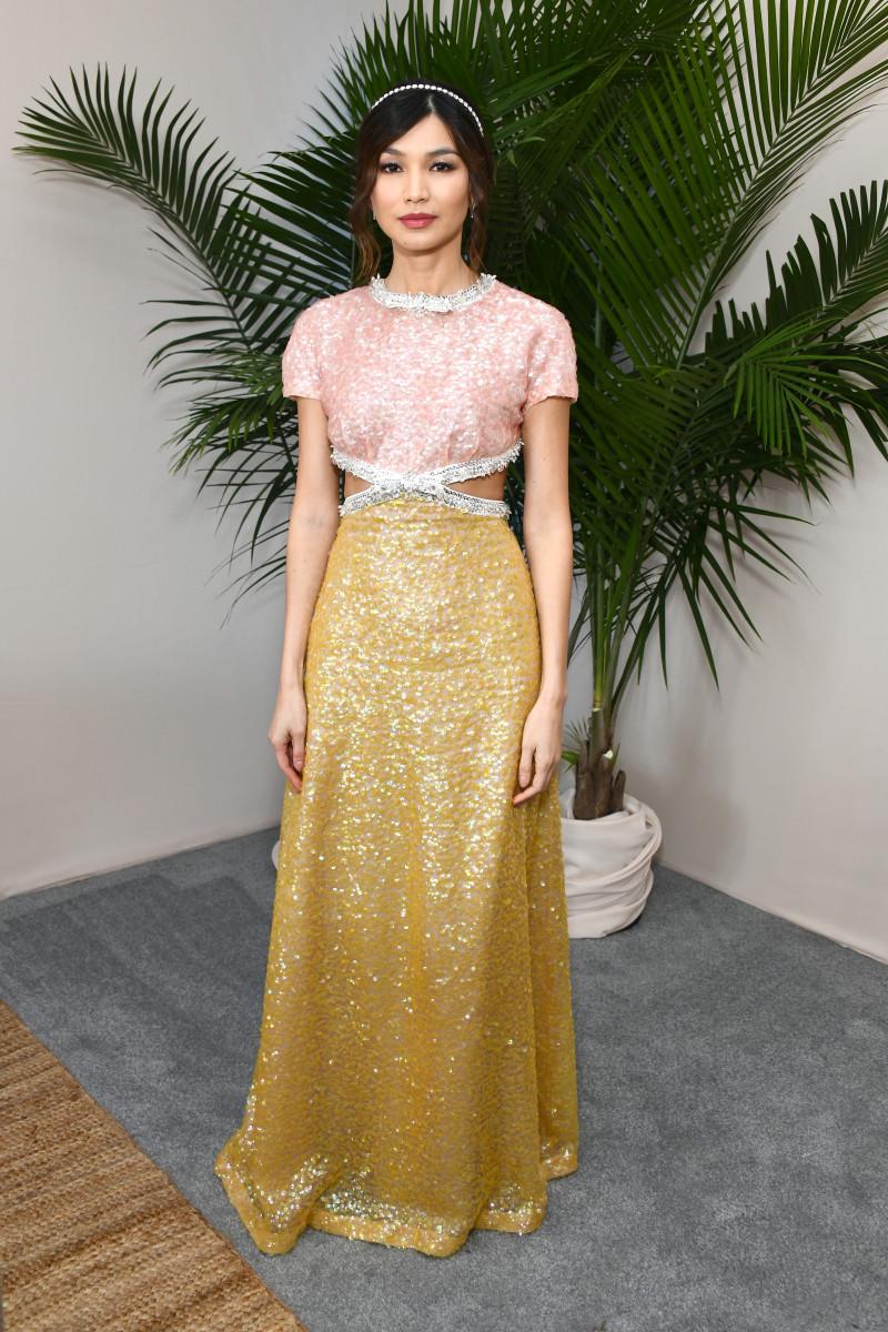Gemma Chan 2019 Independent Spirit Awards Miu Miu